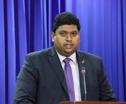 Minister Kevin Ramnarine
