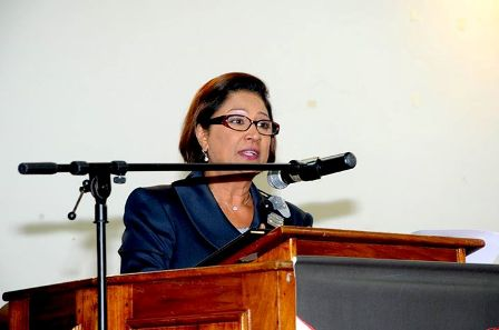 Kamla on crime