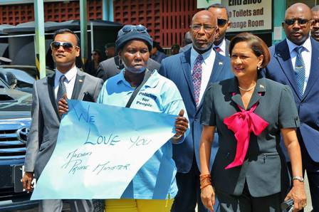 Meeting with East Port of Spain Residents (9)