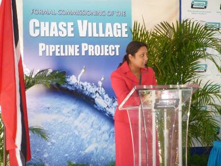 Regular water supply for Chase Village (5)