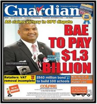 Picture: Guardian: www.guardian.co.tt