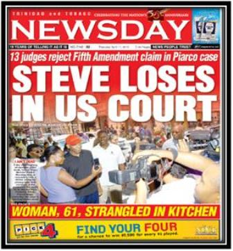 Picture: Newsday: www.newsday.co.tt
