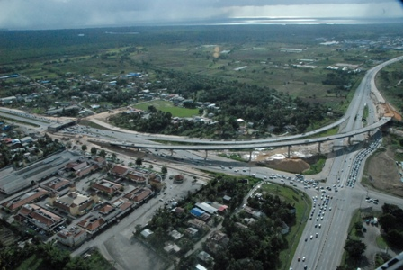 Churchill Roosevelt Highway/Uriah Butler Highway Interchange