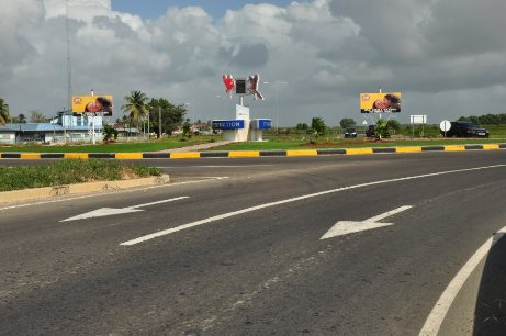 Roundabout - Southern Main Road1