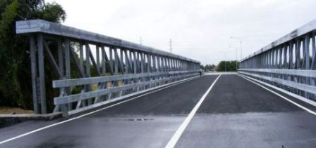 St. Helena Delta Bridge connecting Kelly Village to Piarco