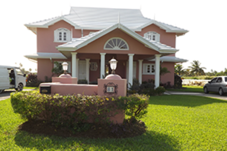 NEW ARRANGEMENTS: Villa #81, at Plantations in Lowlands, the new home of Tobago House of Assembly (THA) Chief Secretary Orville London and his family, from today and for the next six months, while his official Lowlands home is being repaired. —Photo: ELIZABETH WILLIAMS