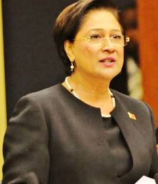 The Hon. Kamla Persad-Bissessar, SC, MP Leader of the Oppositio