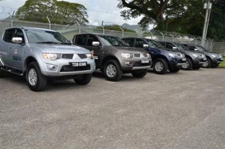 New Vehicles for Praedial Larceny Squad