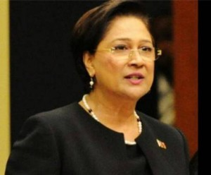 Leader of the Opposition, Kamla Persad-Bissessar i
