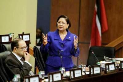 Prime Minister Kamla Persad-Bissessar