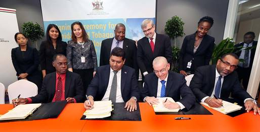 Signing more deepwater Production Sharing Contracts