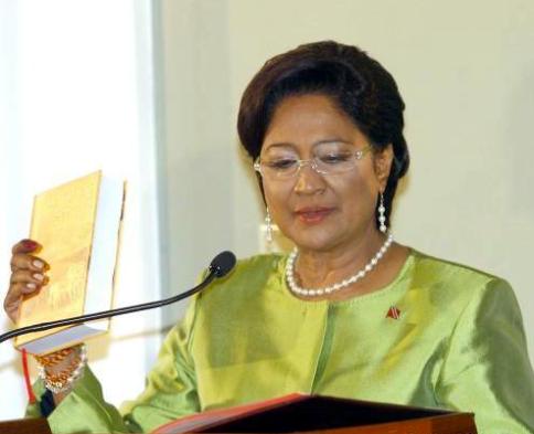 Prime Minister Kamla Persad-Bissessar SC.