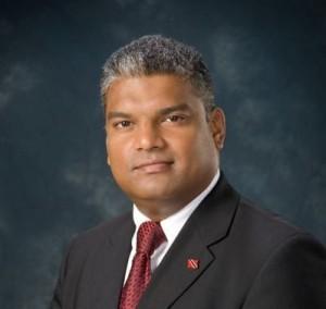 Senator the Hon. Anand Ramlogan SC, Attorney General of Trinidad and Tobago.