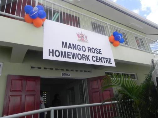 Mango Rose, east Port of Spain Homework Centre