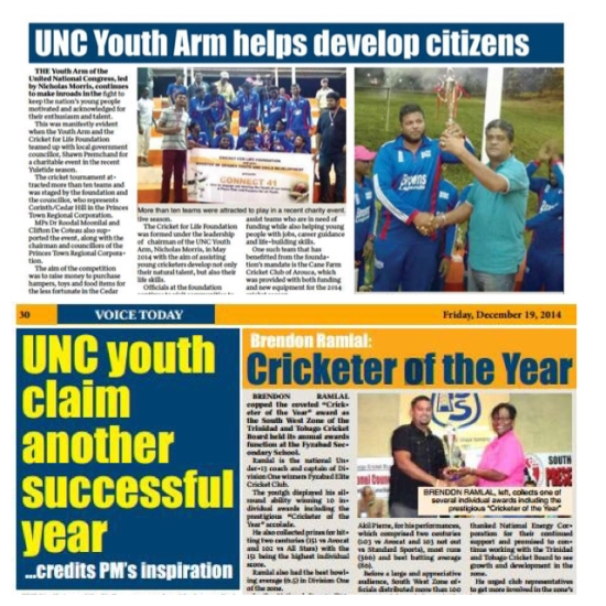 UNC youth claim another successful year