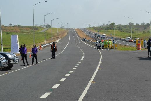 Highway opening
