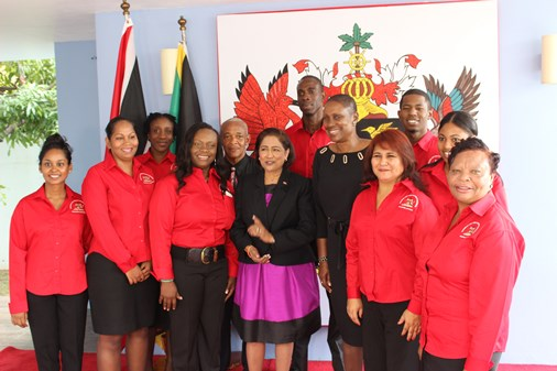 Prime Minister Kamla Persad Bissessar commissioned T&T's High Commission in Jamaica on Wednesday.