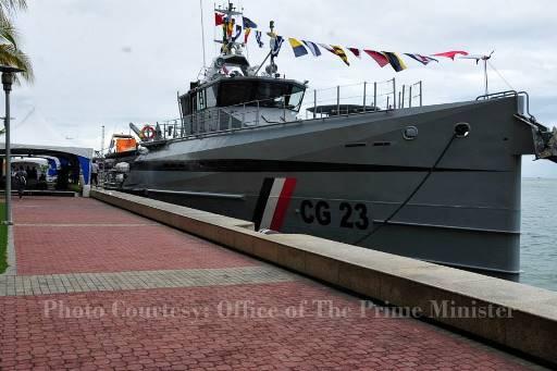 New Coast Guard vessel sails in