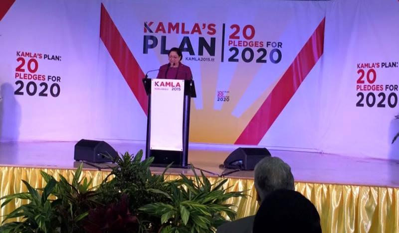 PM Kamla Speaking Notes Manifesto 2015 Launch