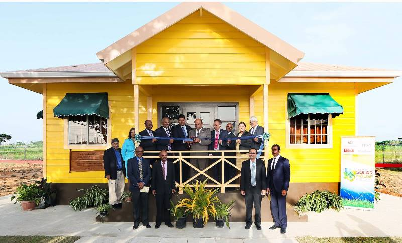 The Launch of the Solar House Project