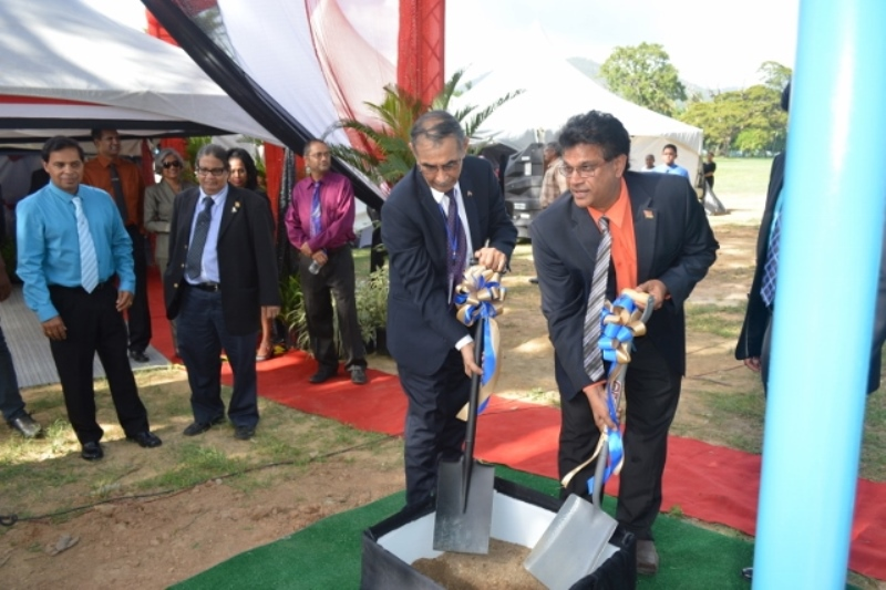 Sod Turning for new Dialysis Centre