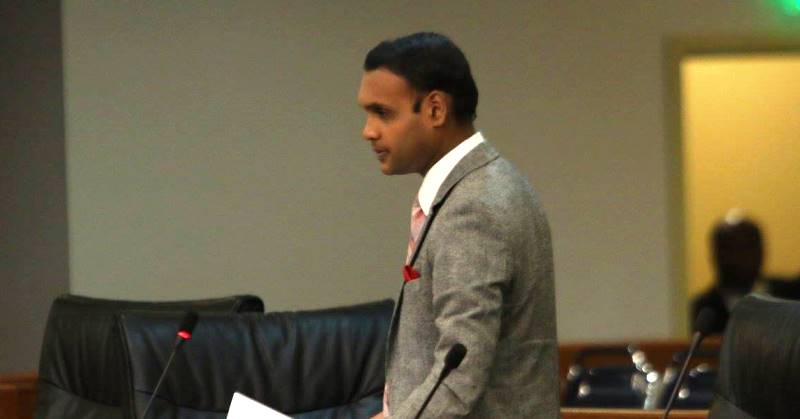 The Member of Parliament for Princes Town, Mr. Barry Padarath, MP Photp Courtesy:  Office of the Parliament.