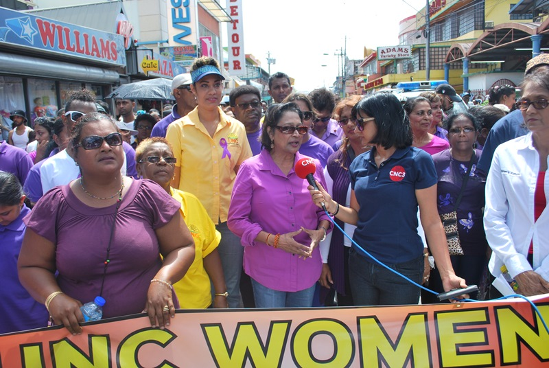 Opposition and United National Congress (UNC) leader, Kamla Persad-Bissessar