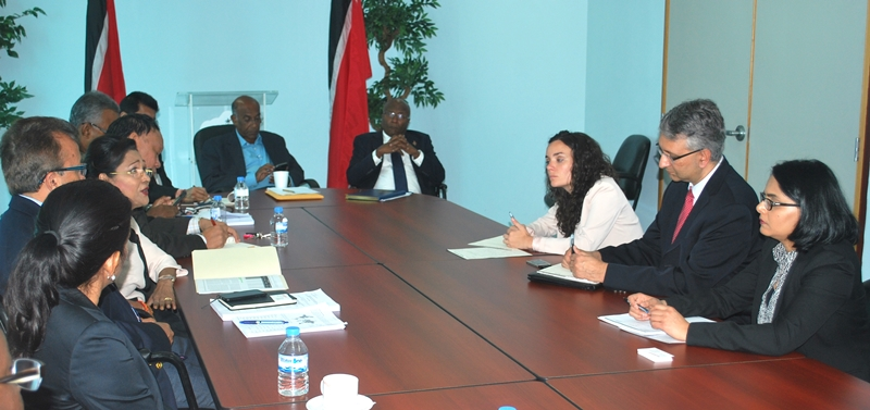 Standard & Poor's (S&P) Delegation meets with the Leader of the Opposition