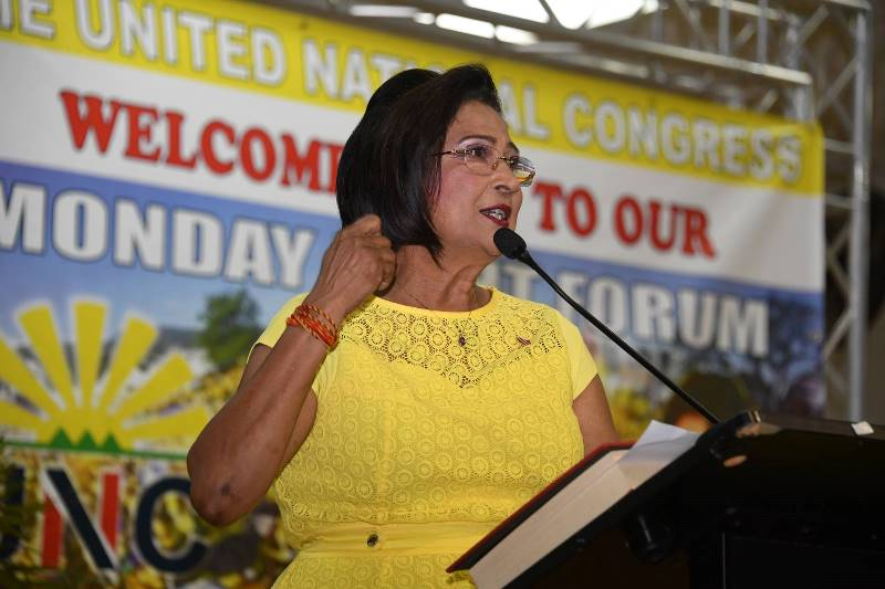 The Hon Kamla Persad-Bissessar, SC, MP