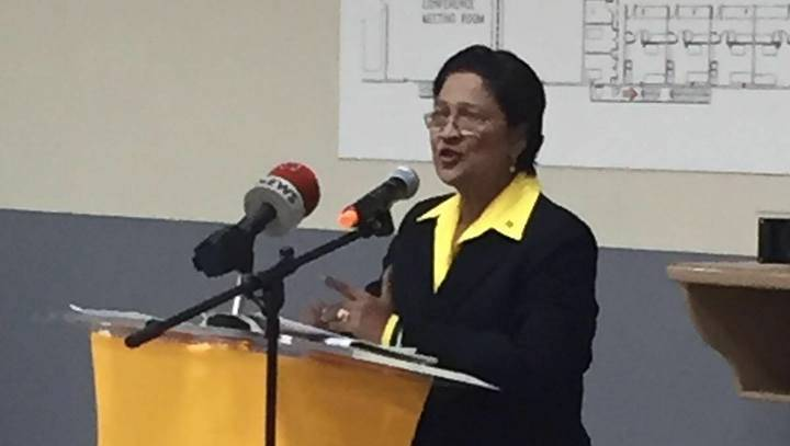 The Hon Kamla Persad-Bissessar, SC, MP Leader of the Opposition of Trinidad and Tobago