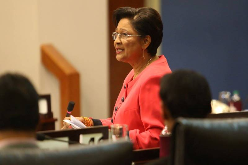 The Hon Kamla Persad-Bissessar, SC, MP Leader of the Opposition of the Republic of Trinidad and Tobago