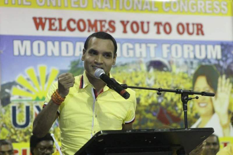 Mr. Barry Padarath, MP     Member for Princes Town