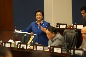 The Leader of the Opposition, Hon. Kamla Persad-Bissessar, SC, MP, Image Courtesy:  Office of the Parliament.