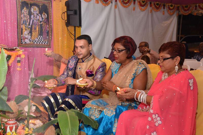 MP for Princes Town Barry Padarath Divali Celebrations