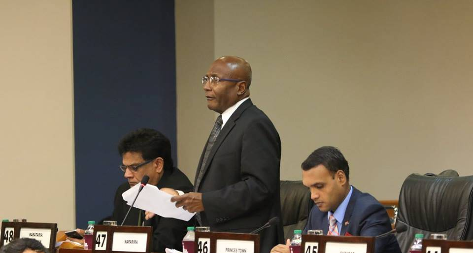 Member for Naparima, Mr. Rodney Charles,  Image Courtesy:  Office of the Parliament.