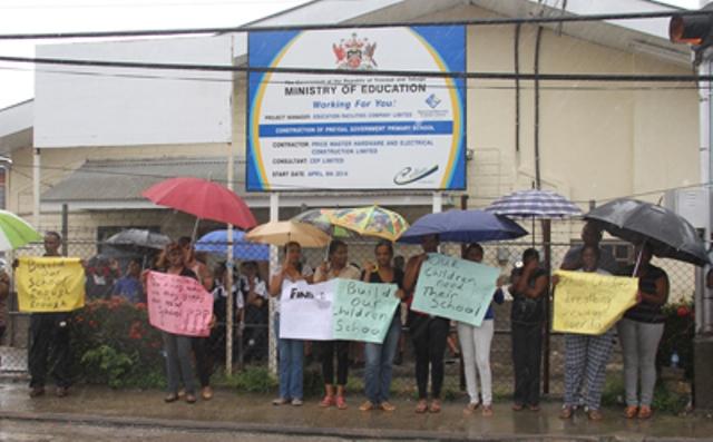 preysal pres parents protest
