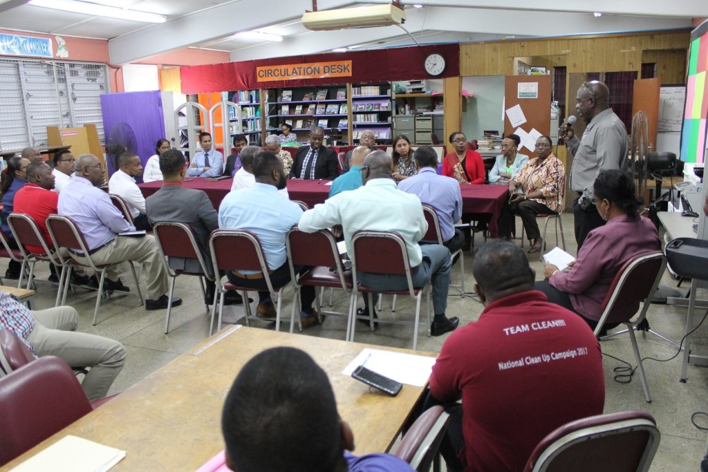 eeting was a direct result of the intervention by Couva North MP, the Honourable Ramona Ramdial  Meeting at Carapichaima East Secondary School to address the pigeon infestation