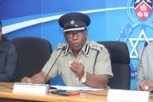 Commissioner of Police Stephen William